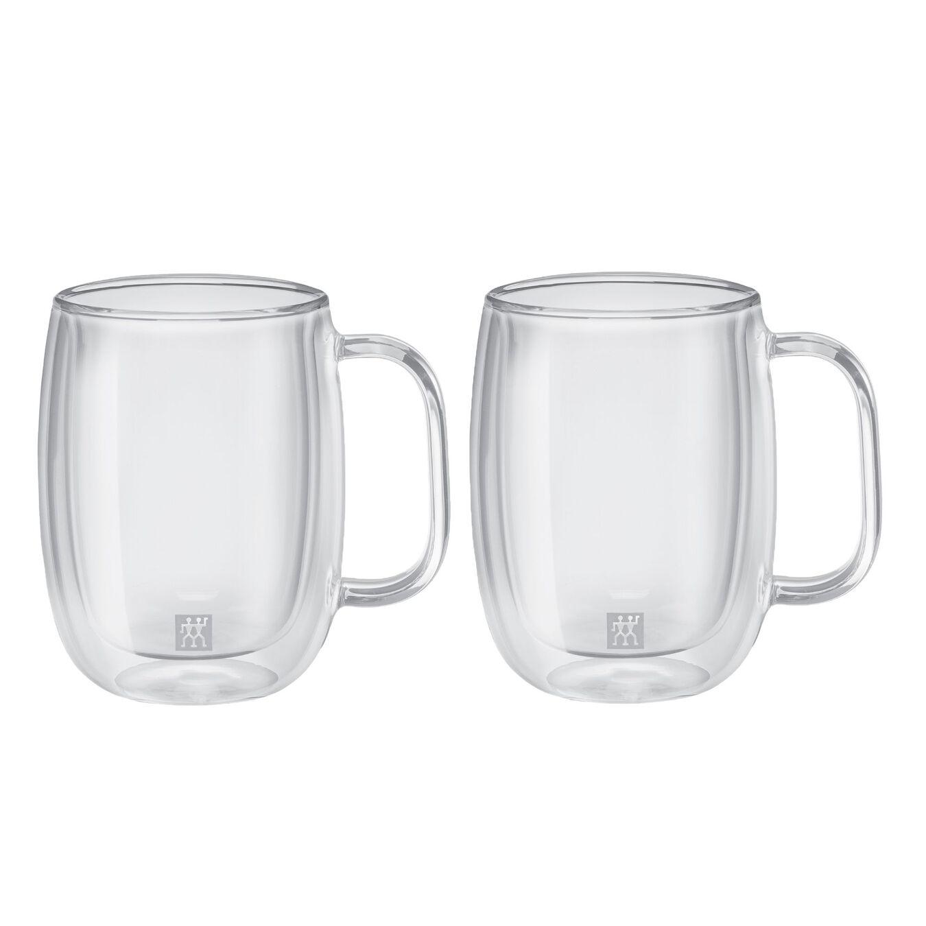Service de verres à café à double paroi, 2-pces,,large 2