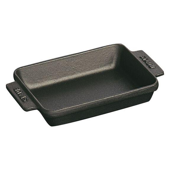 5.75-inch x 4.5-inch Mini Rectangular Baker - Matte Black,,large 3