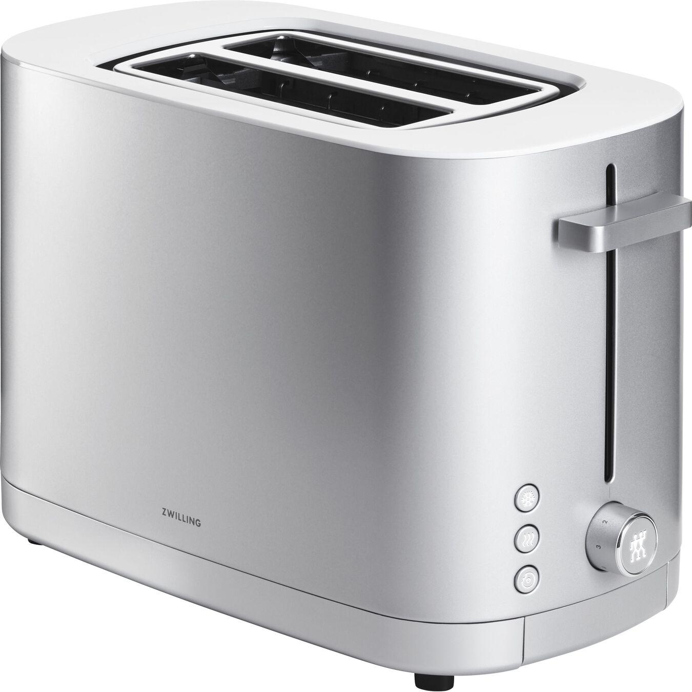 Toaster, 2 Schlitze kurz, Silber,,large 4