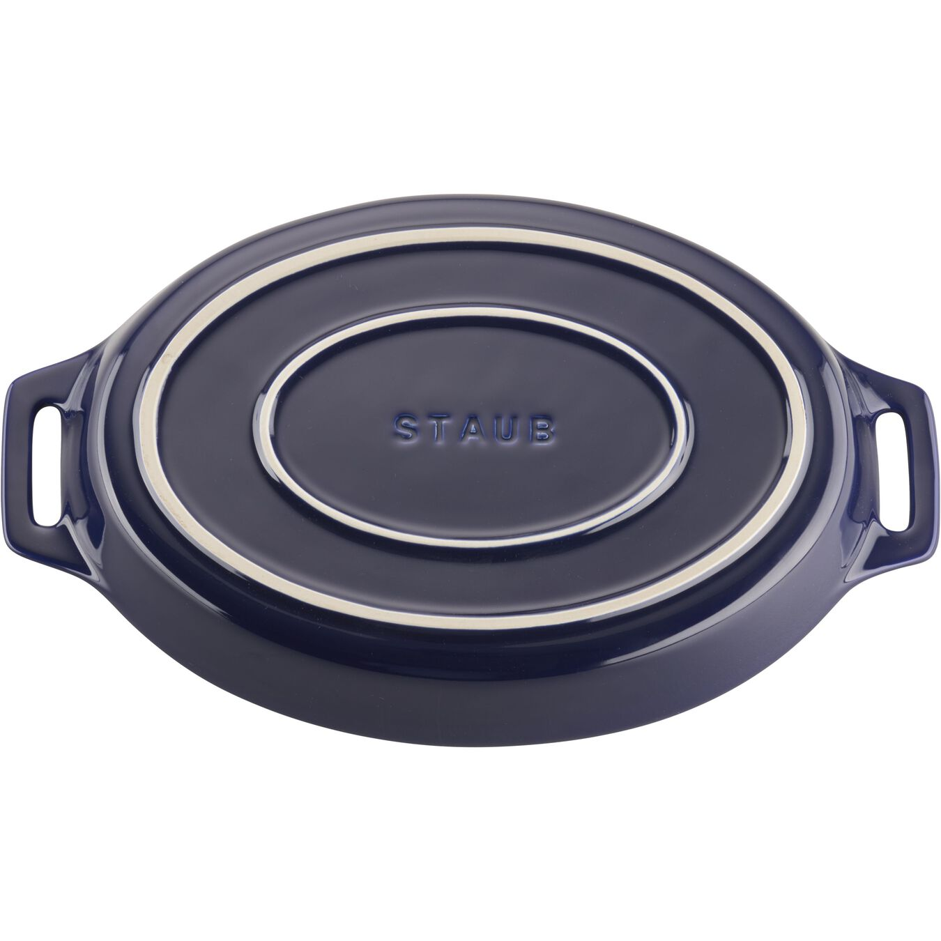 2-pc, oval, Bakeware set, dark blue,,large 5