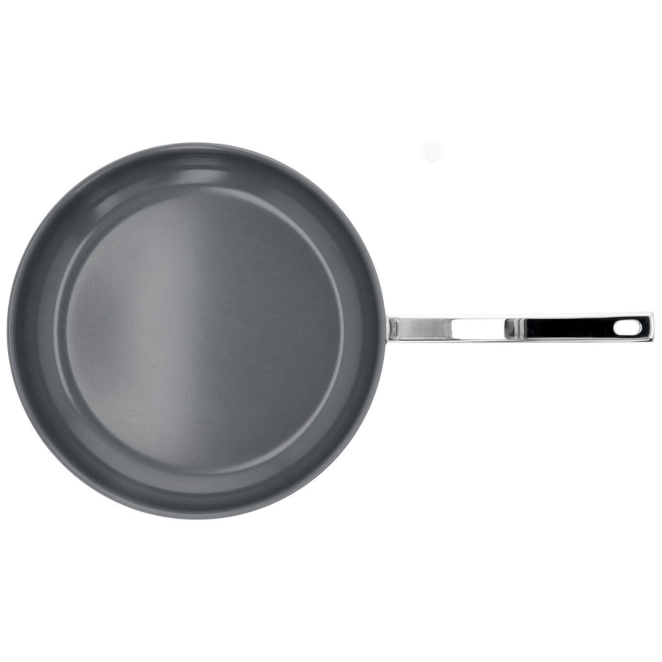 Stekpanna 32 cm, 18/10 Rostfritt stål, Silver,,large 4