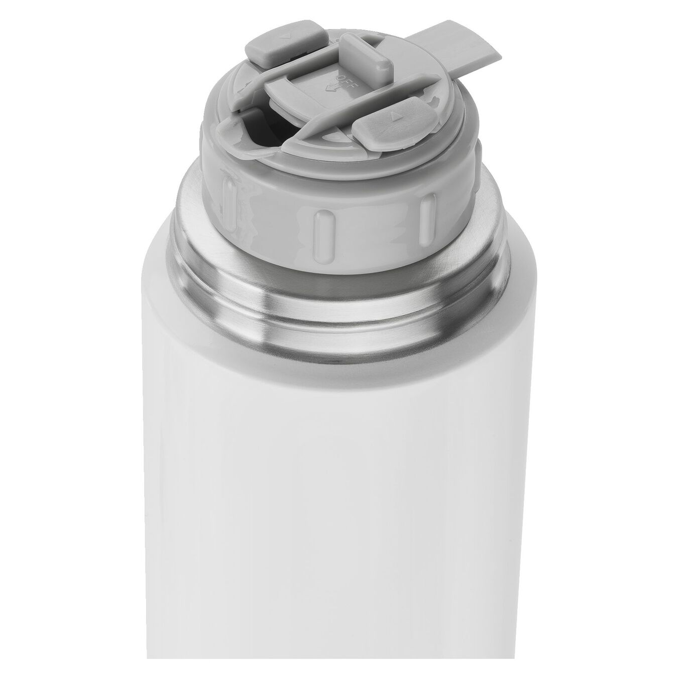 Thermos flask, 1 l | white,,large 2