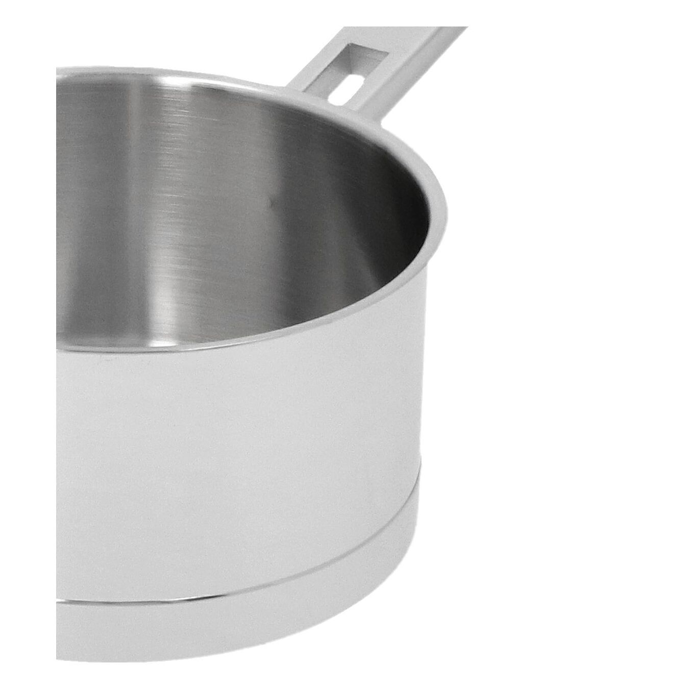 1.1 qt Sauce pan with double walled lid, 18/10 Stainless Steel ,,large 2