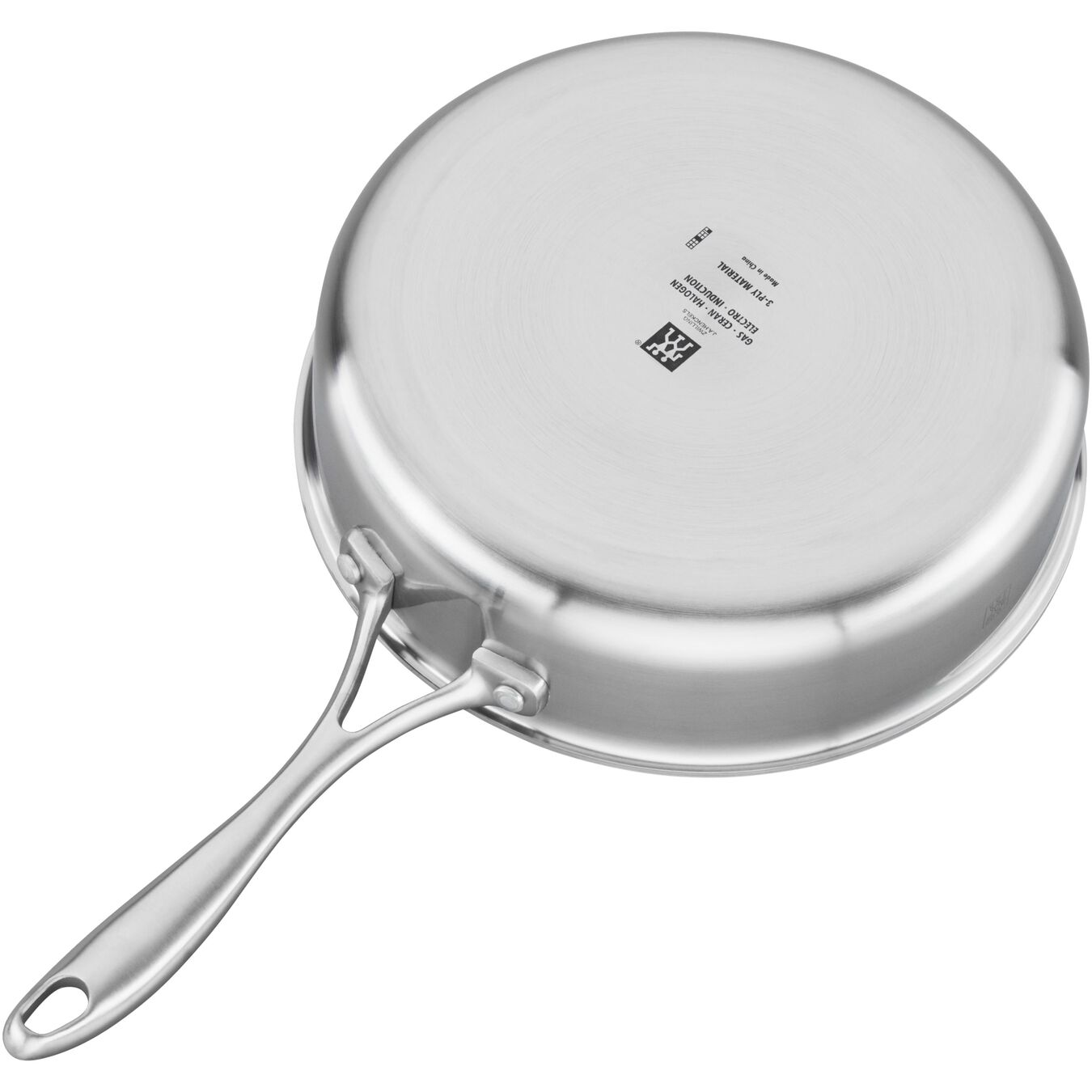 3-ply 3-qt Stainless Steel Saute Pan,,large 4