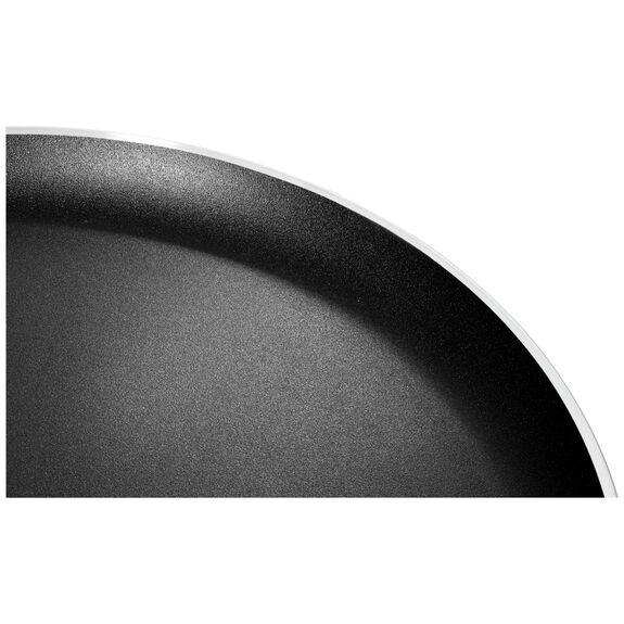 10-inch round PTFE Pancake pan, Black,,large 6