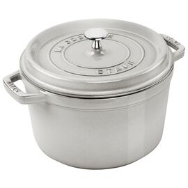 Staub Specialities, 4.75 l round Cocotte, white truffle