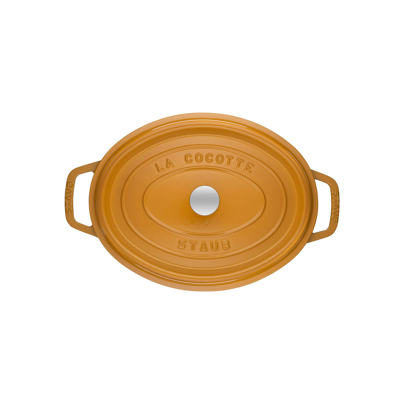 5.5 l oval Cocotte, mustard,,large 2