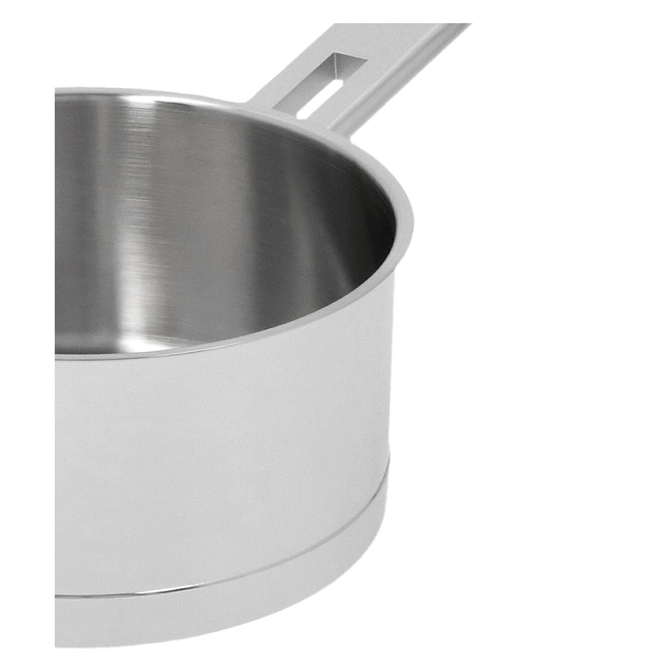 1.6 qt Sauce pan with double walled lid, 18/10 Stainless Steel ,,large 4
