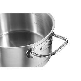 ZWILLING PRIME, Sığ Tencere | 18/10 Paslanmaz Çelik | 2,75 l | Metalik Gri
