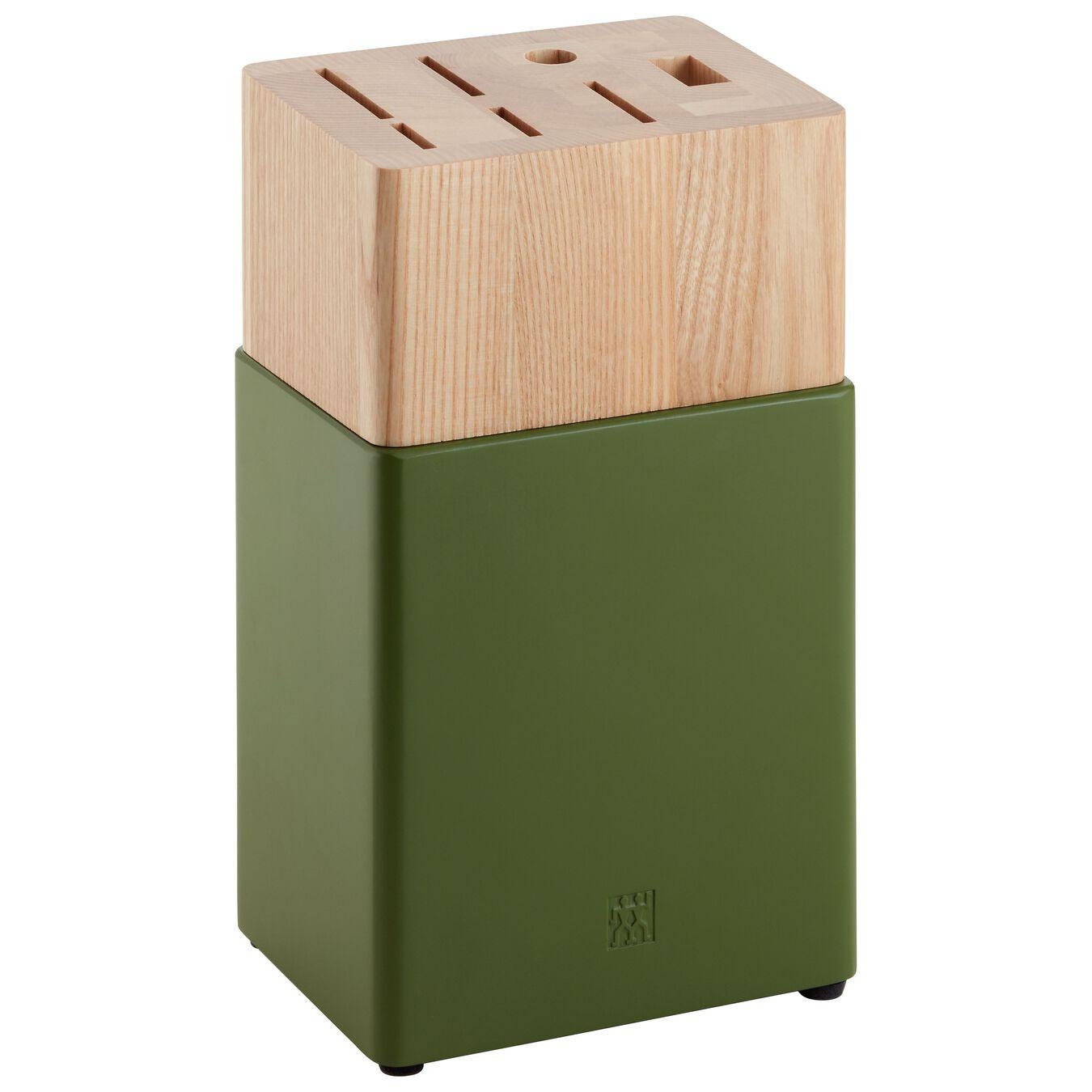 Knivblockset 8-st, Grön,,large 9