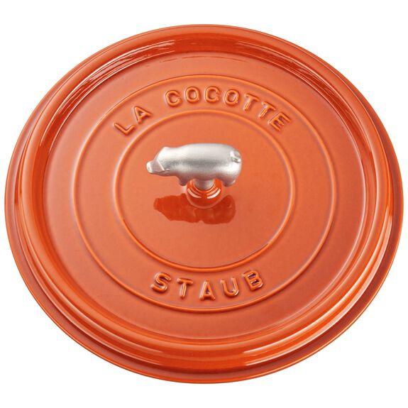 6.25-qt round Cocotte, Orange,,large 2