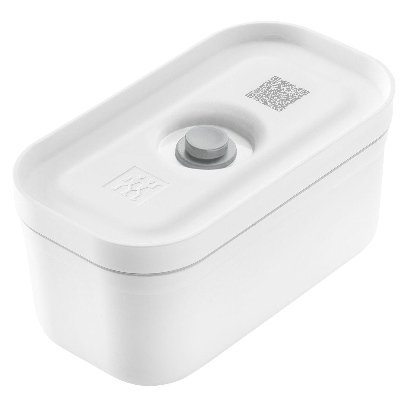 Vakuum madkasser, S - Plastik - Hvid-Grå,,large 1
