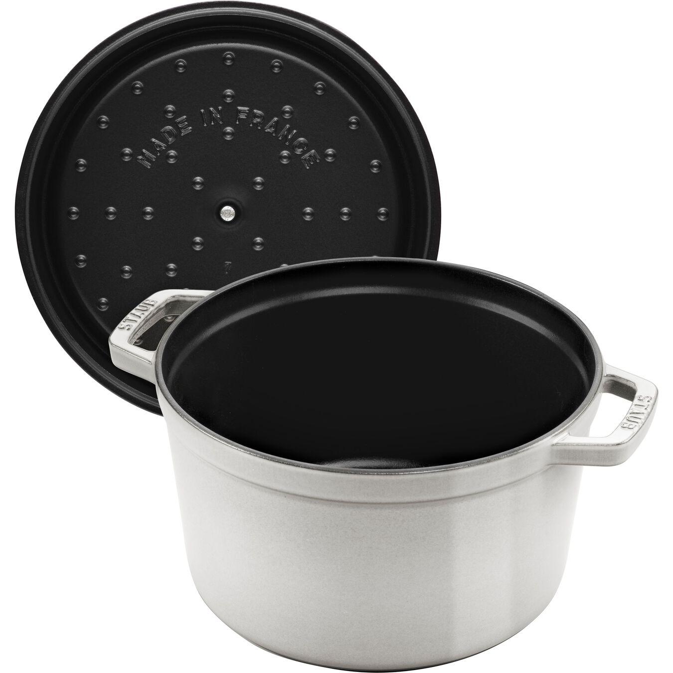 Cocotte 24 cm, Rond(e), Sauge, Fonte,,large 3