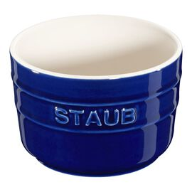 Staub Ceramics, 2-pc Round Ramekin Set - Dark Blue