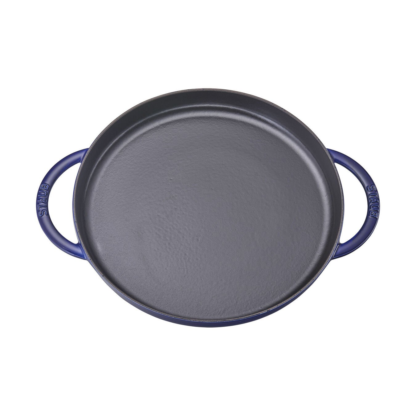 30 cm Cast iron Griddle, dark-blue - Visual Imperfections,,large 2