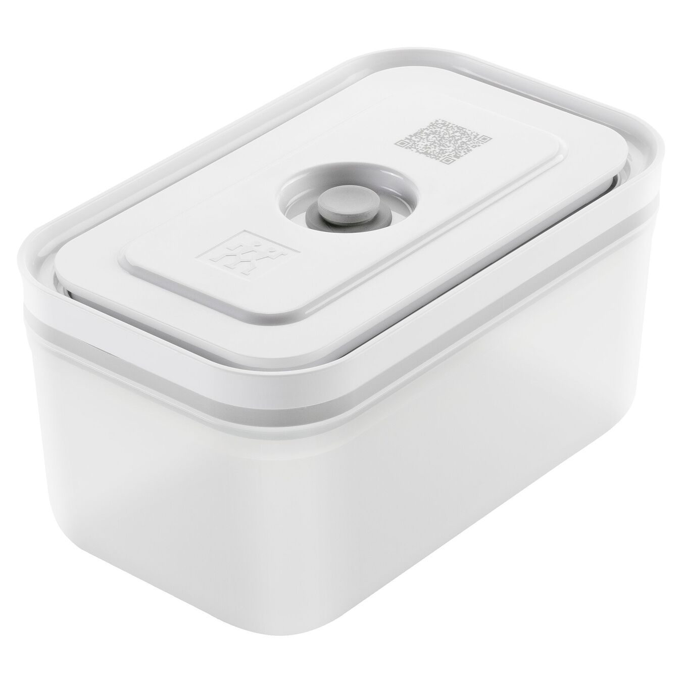 medium Vacuum Container, plastic, white,,large 1
