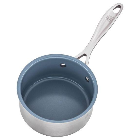 1-qt Ceramic Nonstick Saucepan, , large