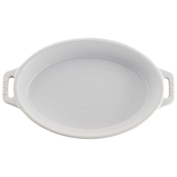 2-pc Oval Baking Dish Set, White, , large 5