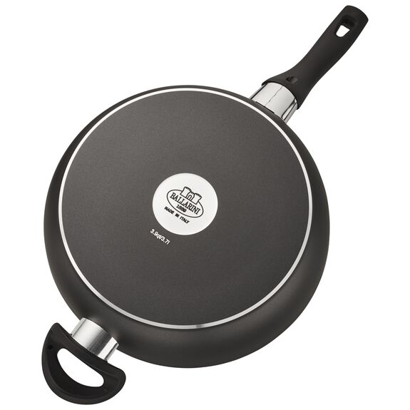 3.9-qt Forged Aluminum Nonstick Saute Pan with Lid, , large 3