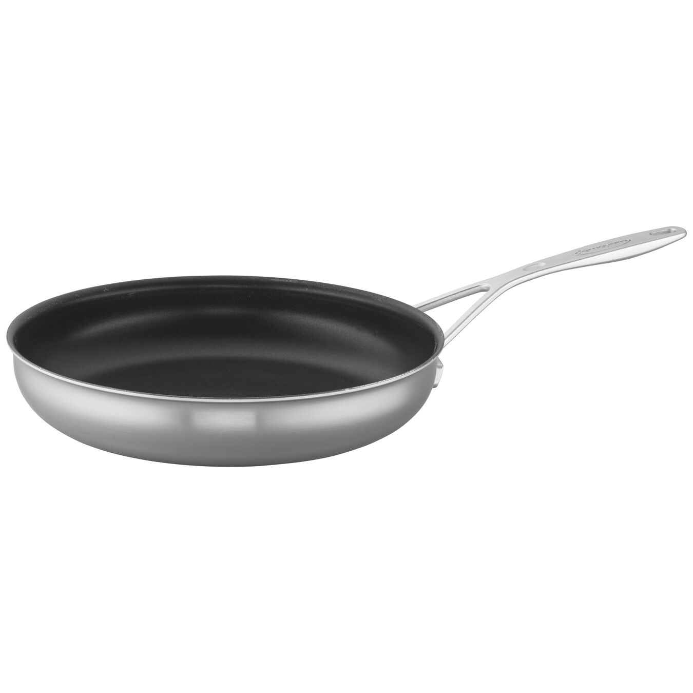 11-inch, 18/10 Stainless Steel, Non-stick, PTFE, Frying pan,,large 3