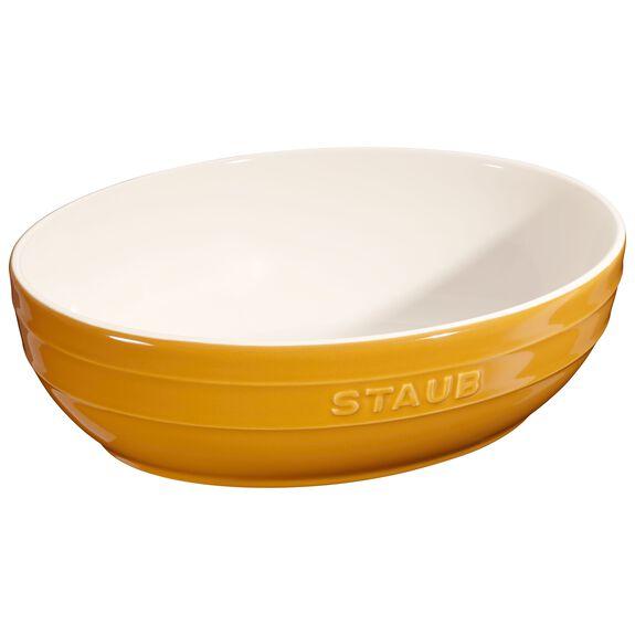 Kase Seti, 2-parça | Hardal | Oval,,large