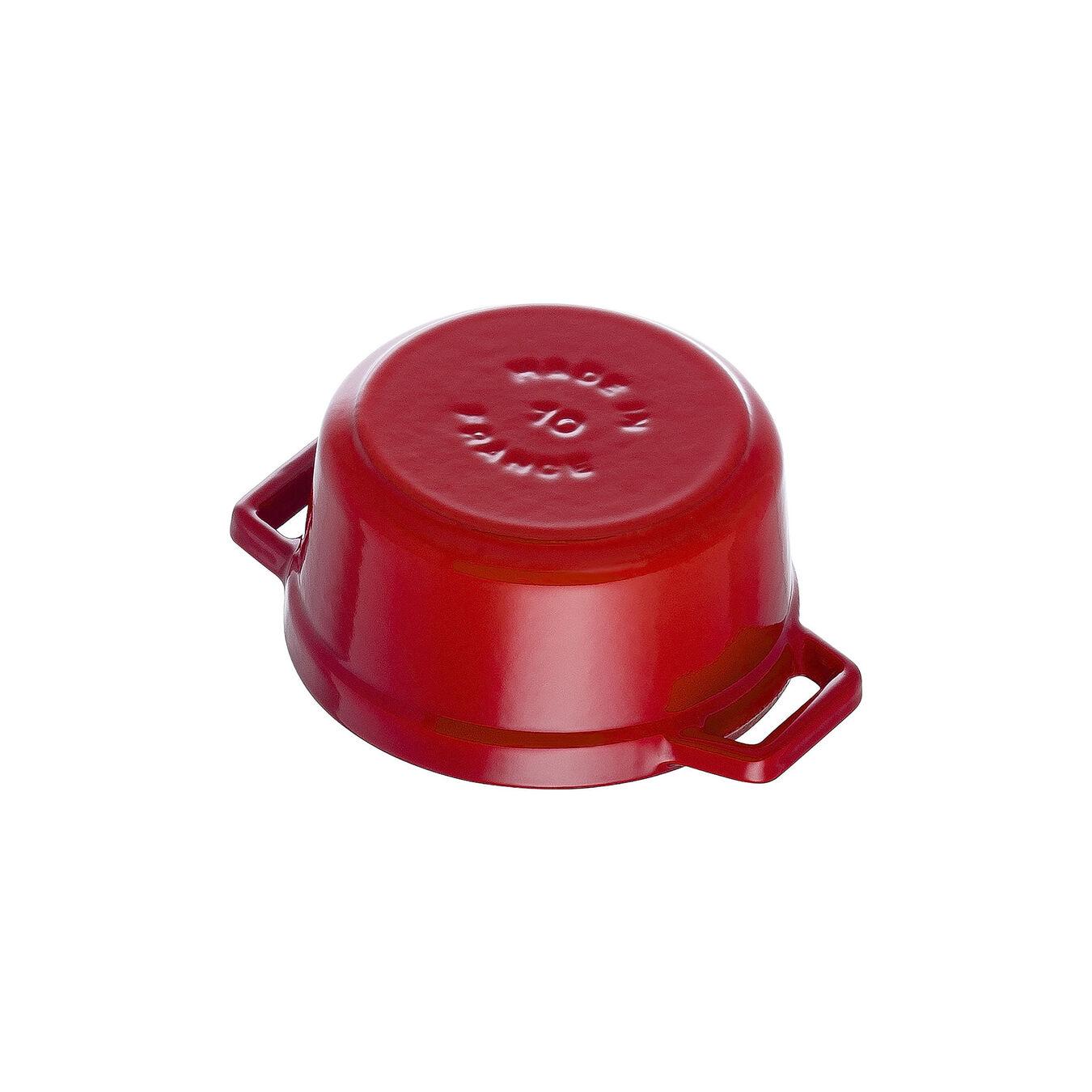 0.25-qt Mini Round Cocotte - Cherry,,large 4
