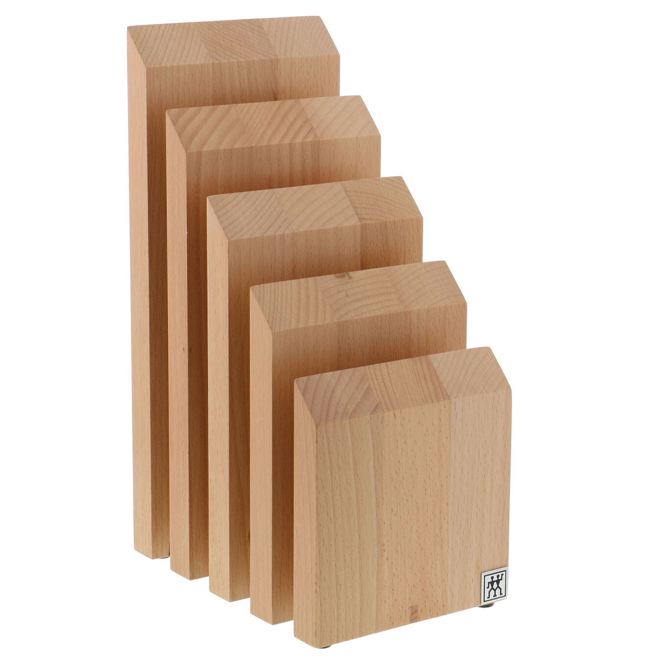 Beechwood, Knife block empty,,large 1