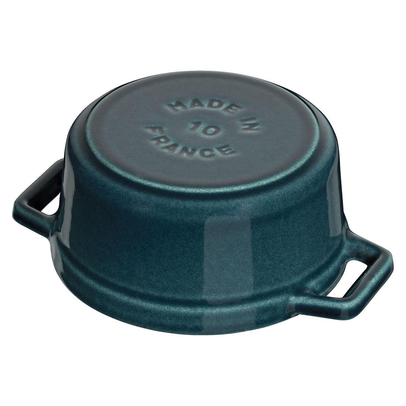 Mini Cocotte 10 cm, rund, La-Mer, Gusseisen,,large 2