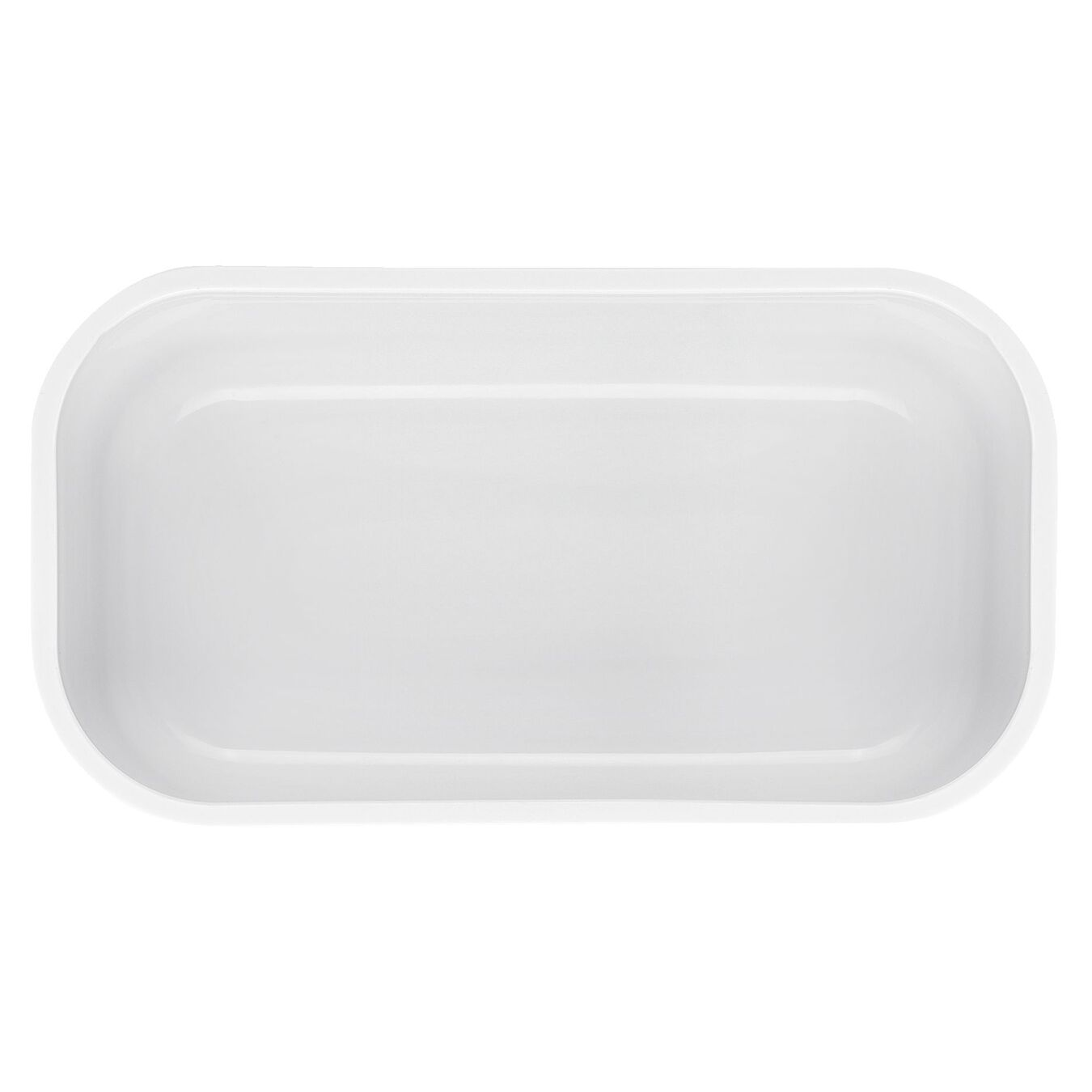 Vakuum Lunchbox, S, Kunststoff, Weiß-Rot,,large 4