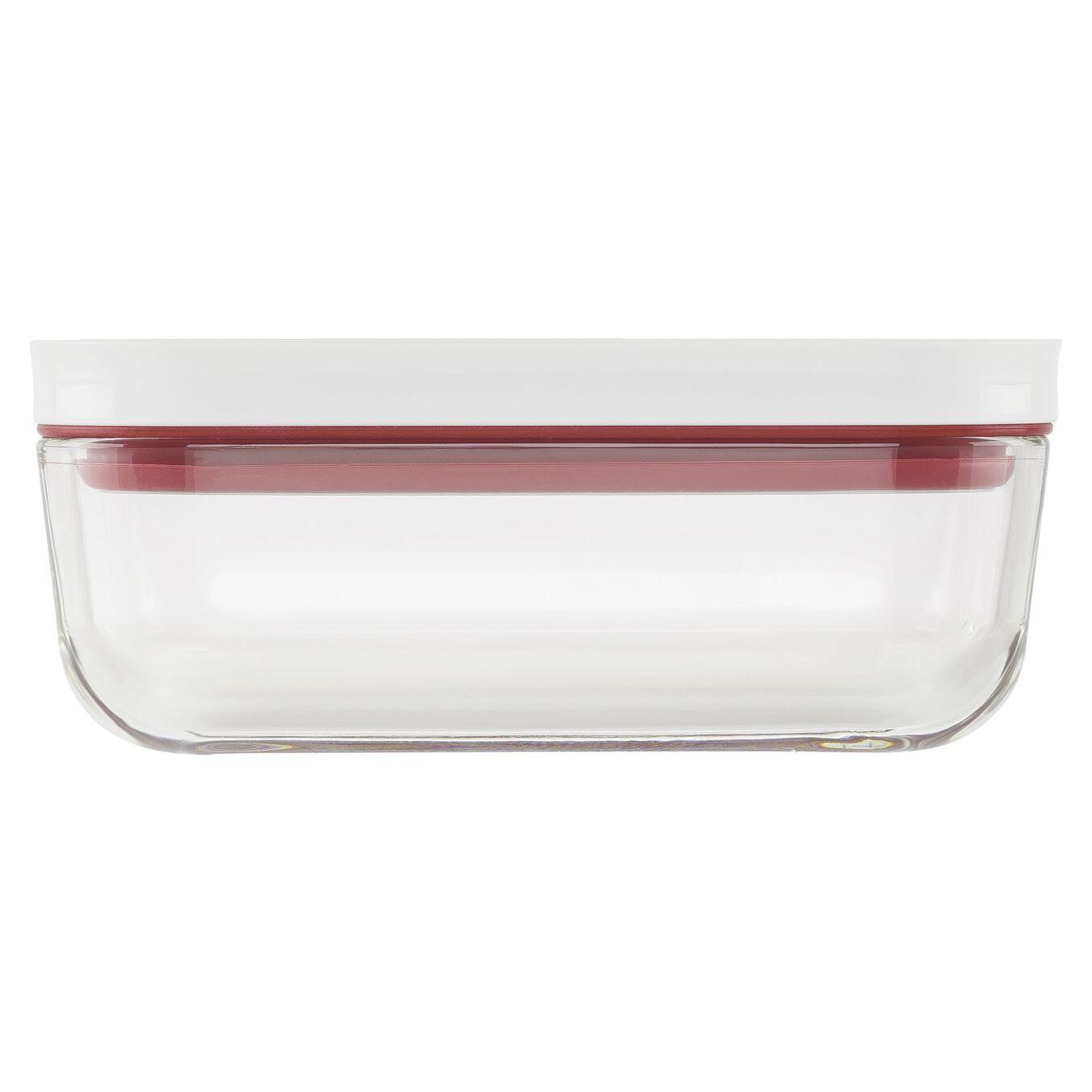 Vakuumbox, S, Glas, Rot,,large 3