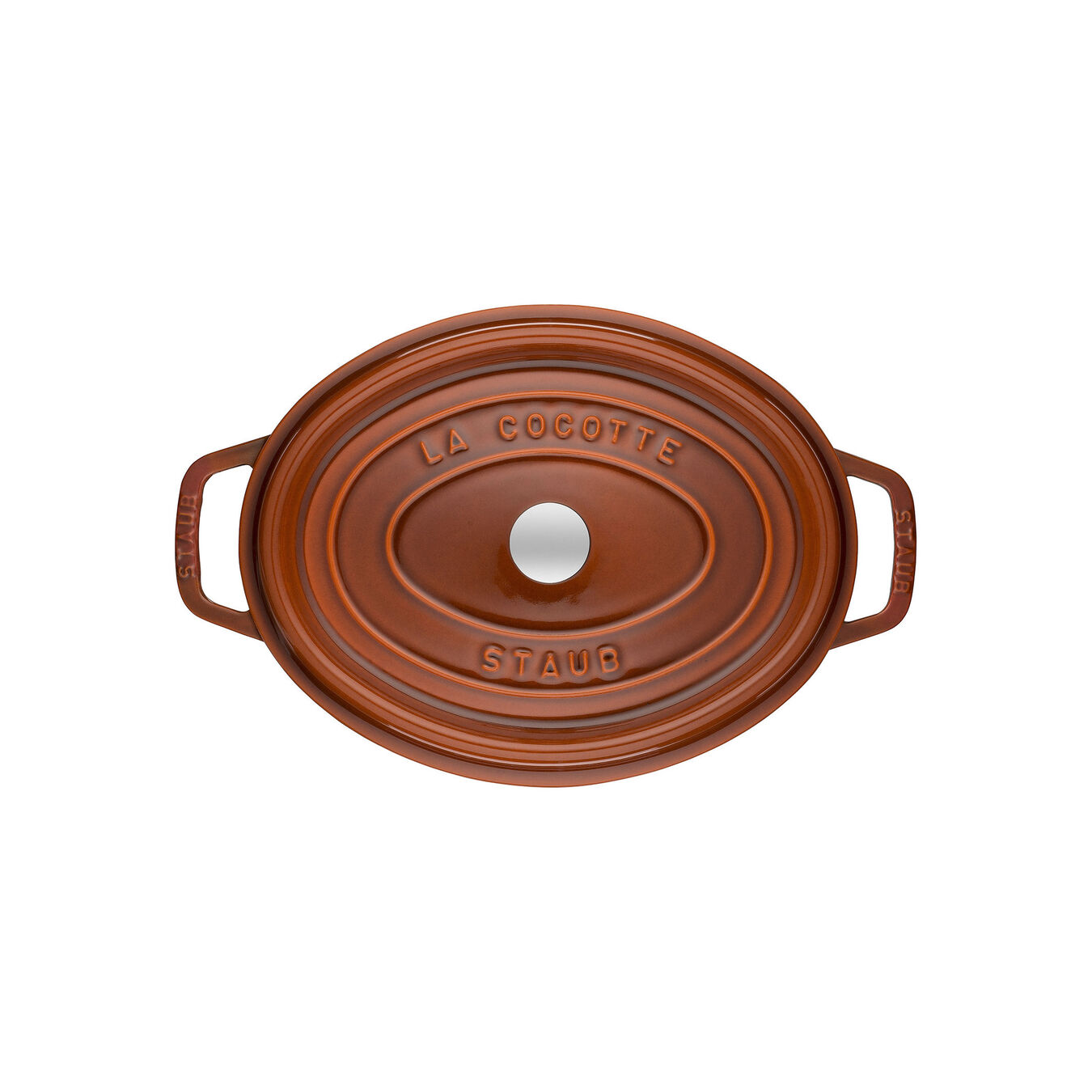 Cocotte ovale - 29 cm, cannella,,large 4