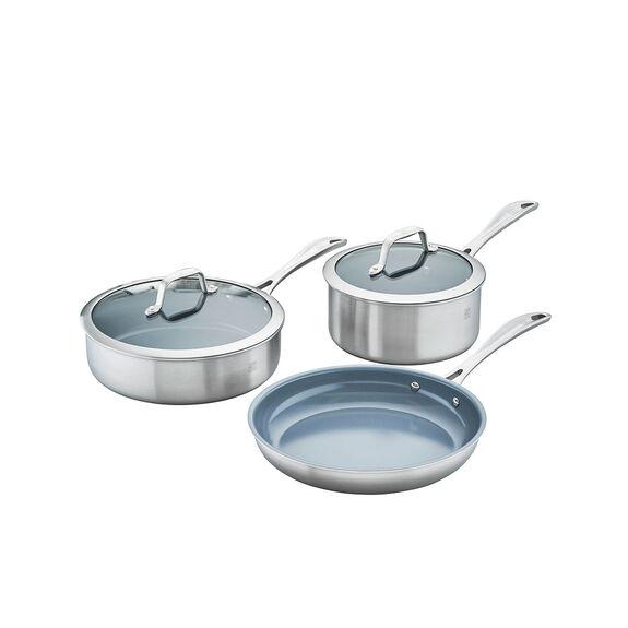 5-pc  Pots and pans set,,large