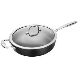 ZWILLING Forte, 28 cm / 11 inch Aluminum Fry pan with lid