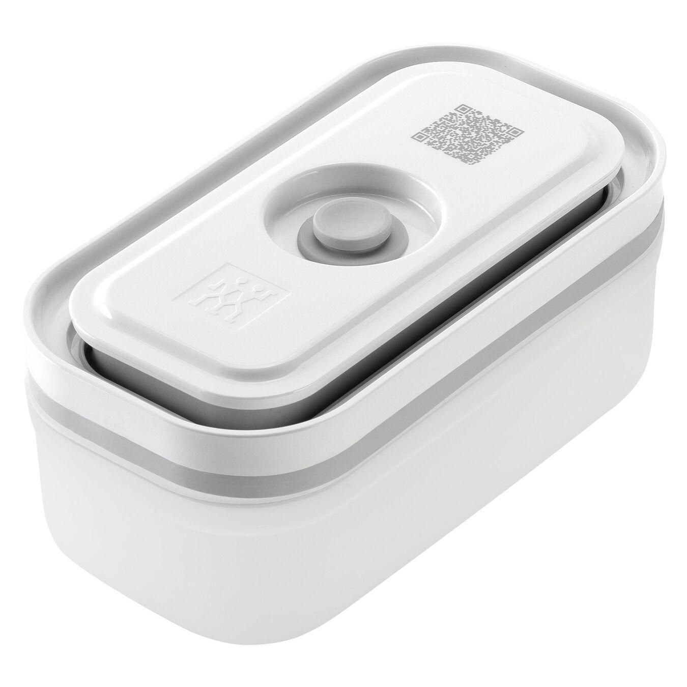 small Vacuum Container, Plastic, white,,large 1