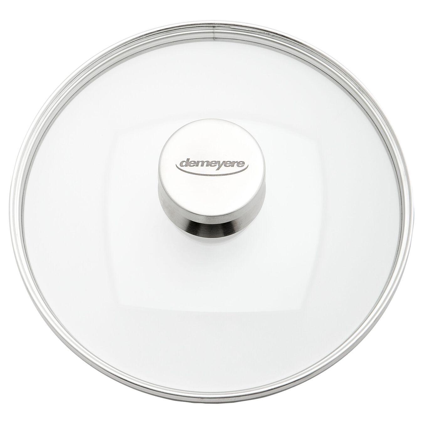 Coperchio - 24 cm, vetro,,large 2
