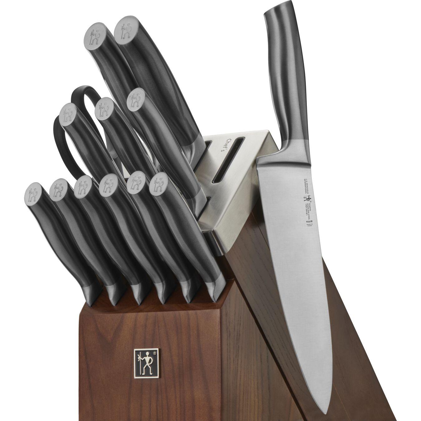14-pc, Self-Sharpening Knife Block Set,,large 1