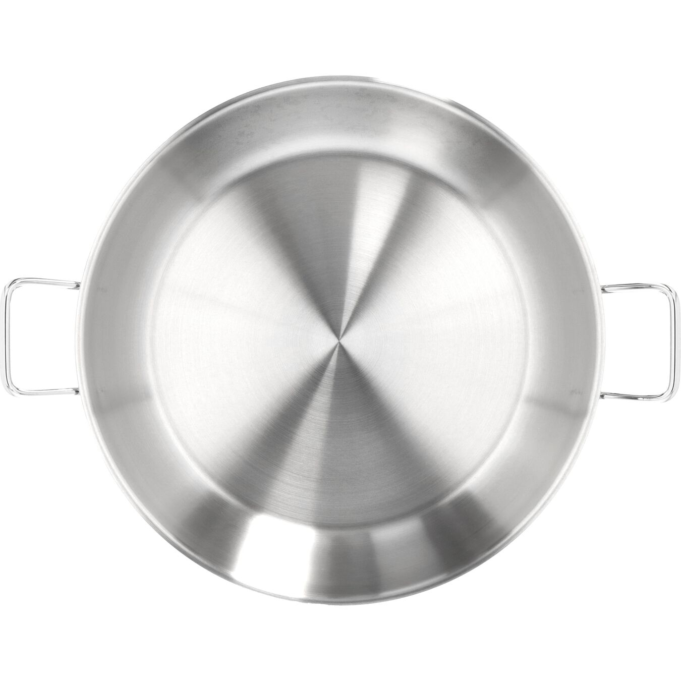 Paella Tavası Kapaksız | 18/10 Paslanmaz Çelik | 46 cm,,large 2