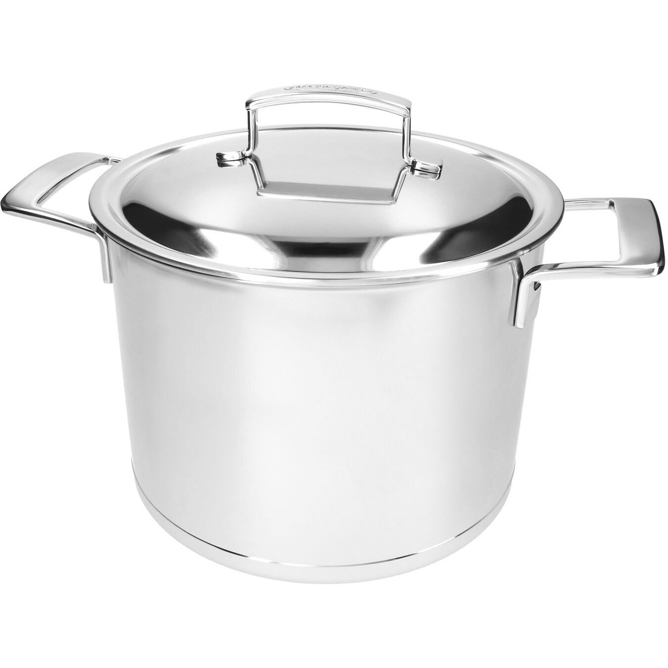 8 qt Stock pot with double walled lid, 18/10 Stainless Steel ,,large 3