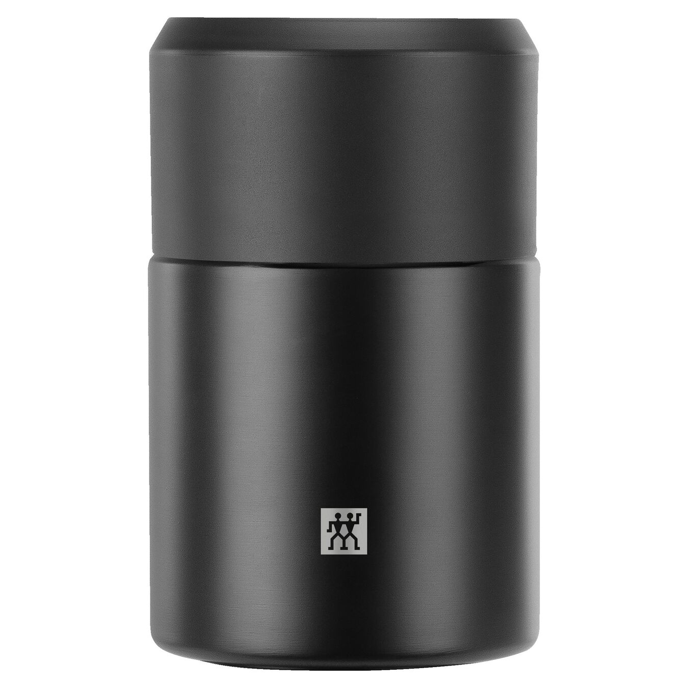 Food jar, black | Stainless steel | 700 ml,,large 1