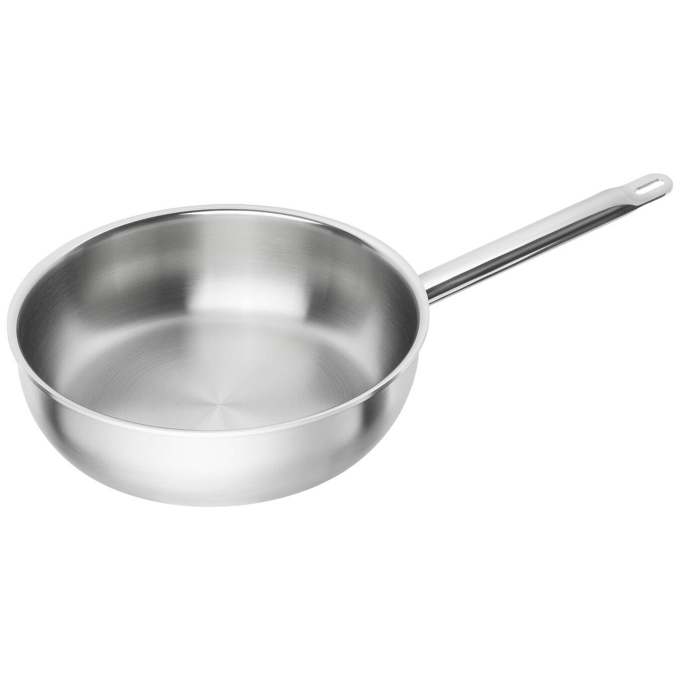 Stekpanna högsidig 28 cm, 18/10 Rostfritt stål, Silver,,large 1