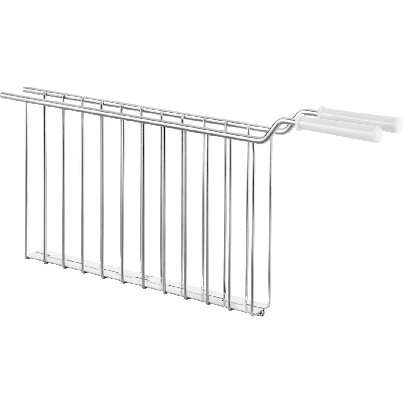 Sandwich rack, 2 long slots   white,,large 1