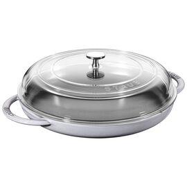 12-inch Round Steam Griddle - Graphite Grey
