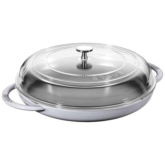 12-inch Round Steam Griddle - Graphite Grey,,large