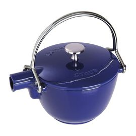 Staub Cast iron, 1.25 l Cast iron Tea pot, Dark-Blue