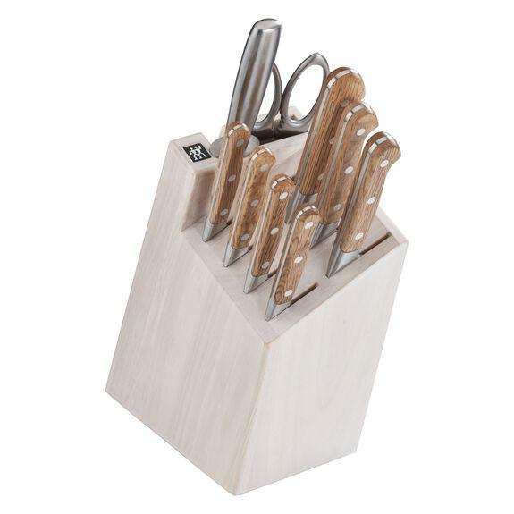 10-pc Knife Block Set - White Block,,large 2