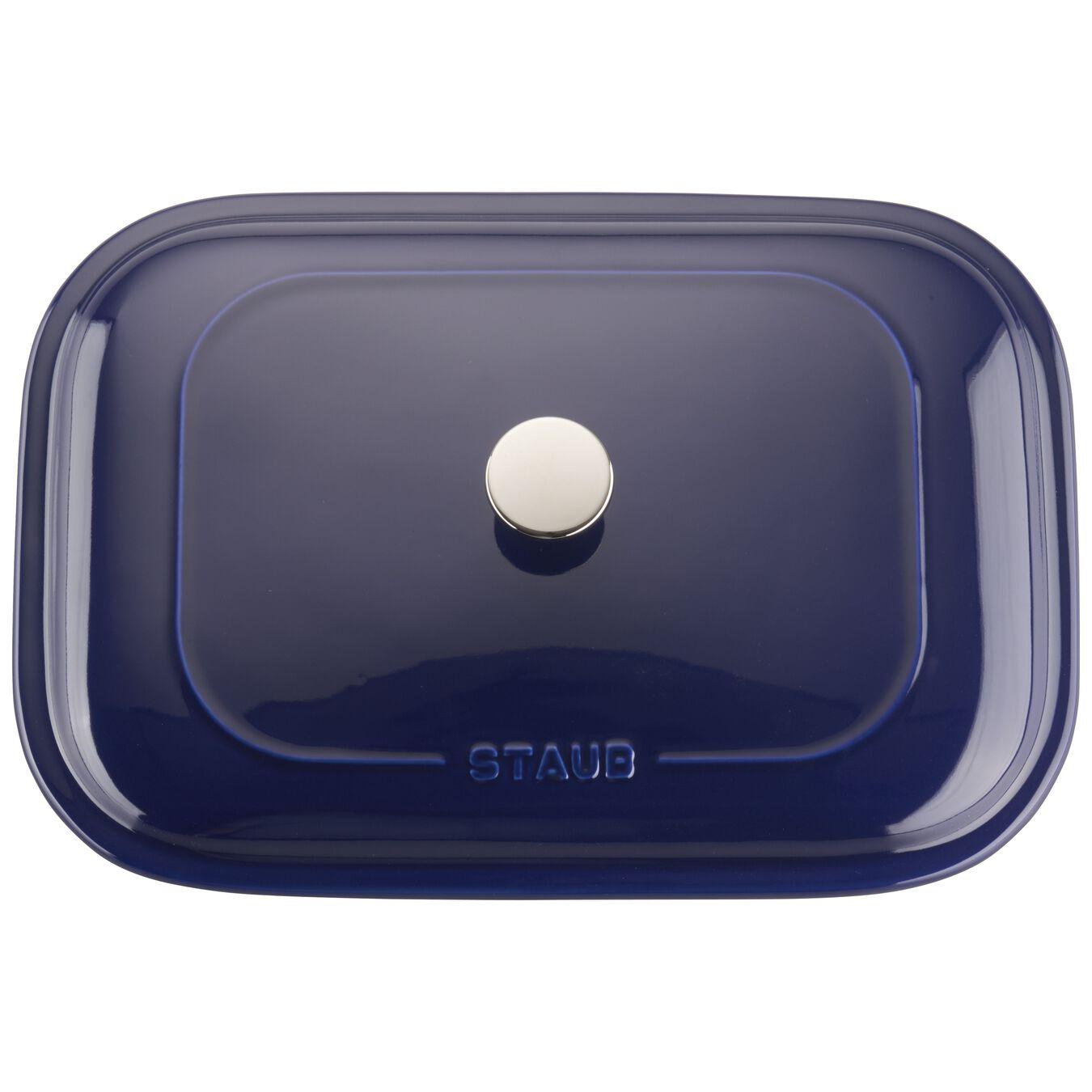 Ceramic rectangular Moules de forme spéciale, Dark-Blue,,large 2