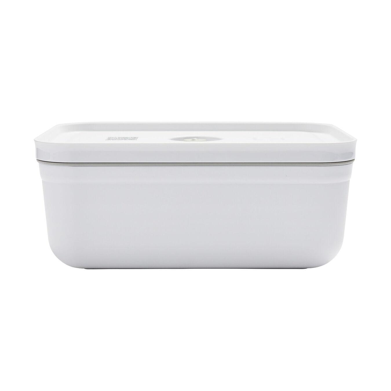 large Vacuum lunch box, Plastic, white,,large 3