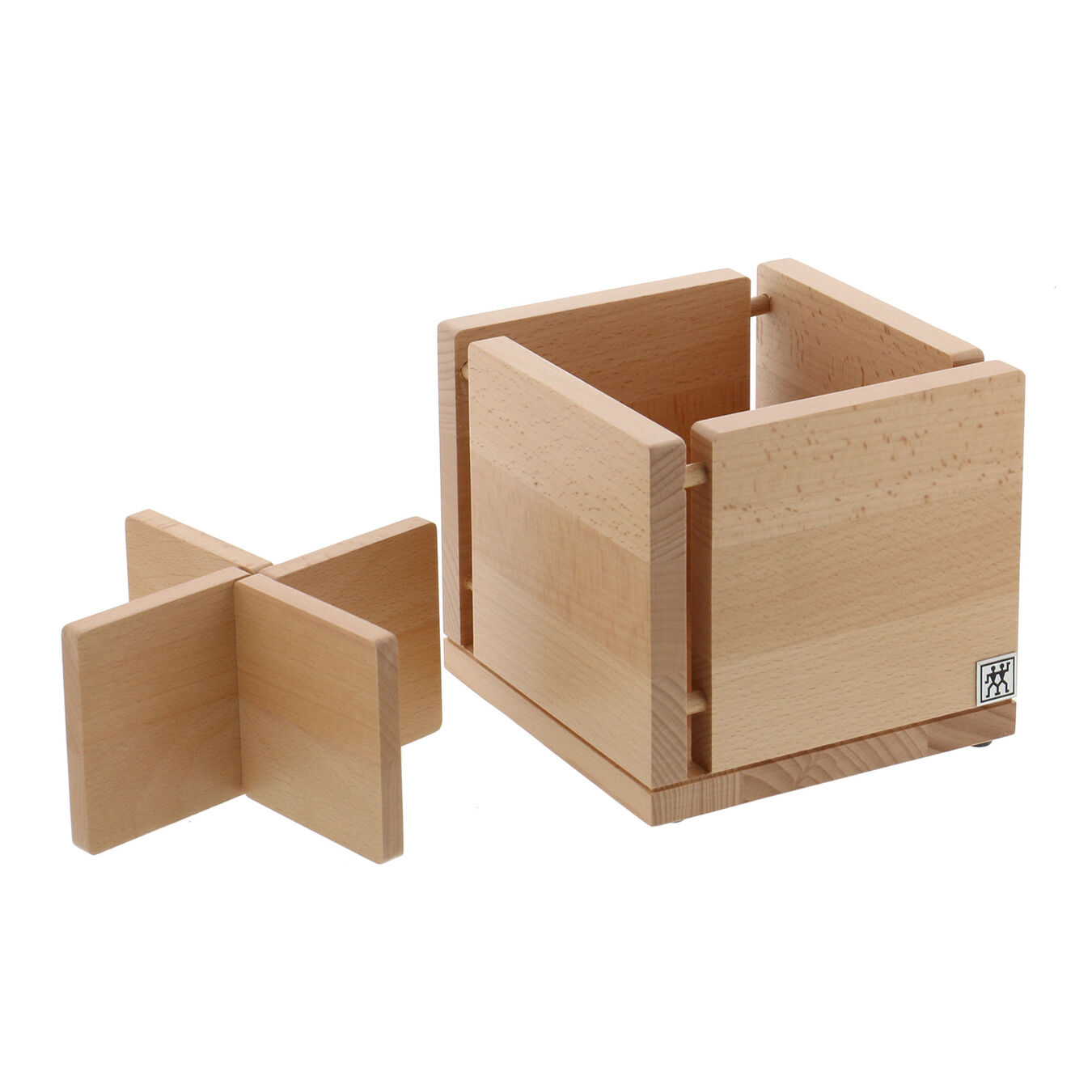 Kitchen Utensil Organizer - Natural Beechwood,,large 2