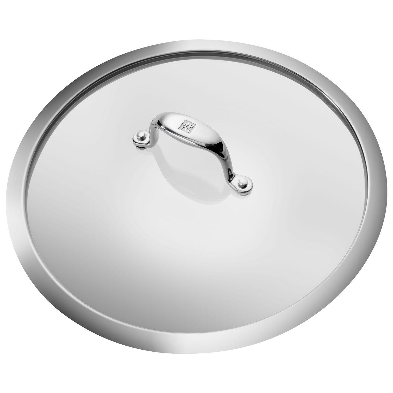 Bratpfanne mit Deckel 28 cm, Aluminium, Silber-Schwarz,,large 2