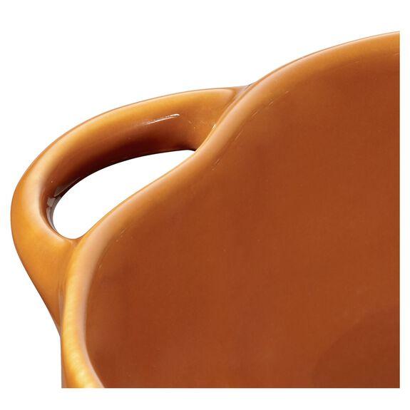 16-oz Petite Pumpkin Cocotte - Burnt Orange,,large 3